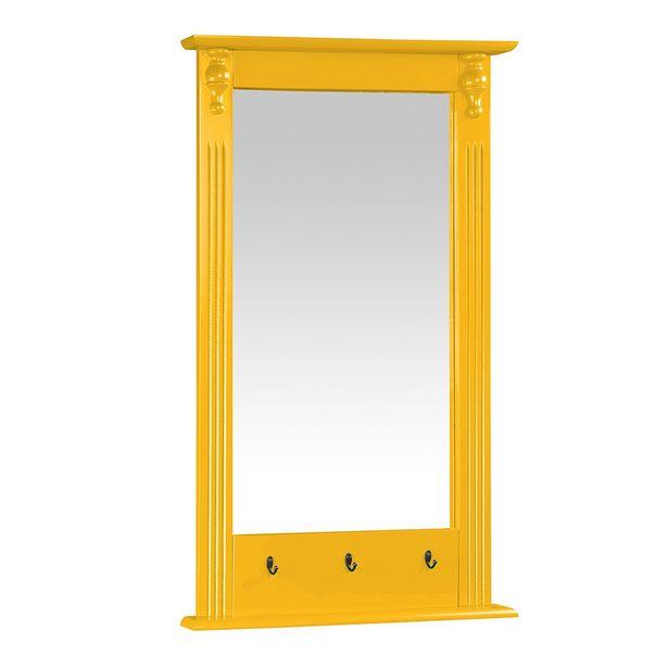 Oferta de Moldura com Espelho 412 Laca Amarelo - Meyer por R$349