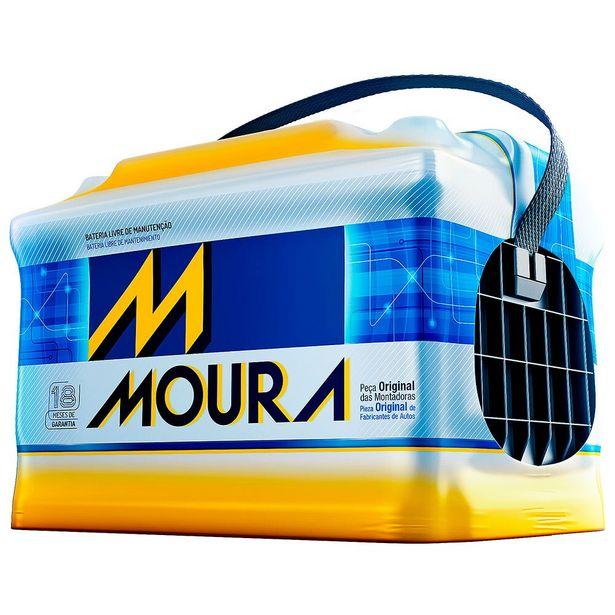 Oferta de Bateria Automotiva Moura M50EX 50AH por R$429
