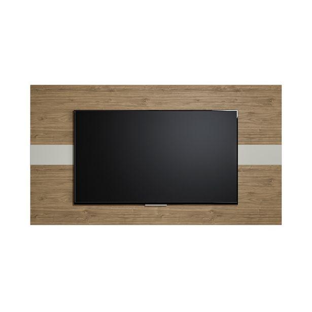 Oferta de XPainel para TV Franca 160cm Avelã/Off White - Linea Brasil por R$219