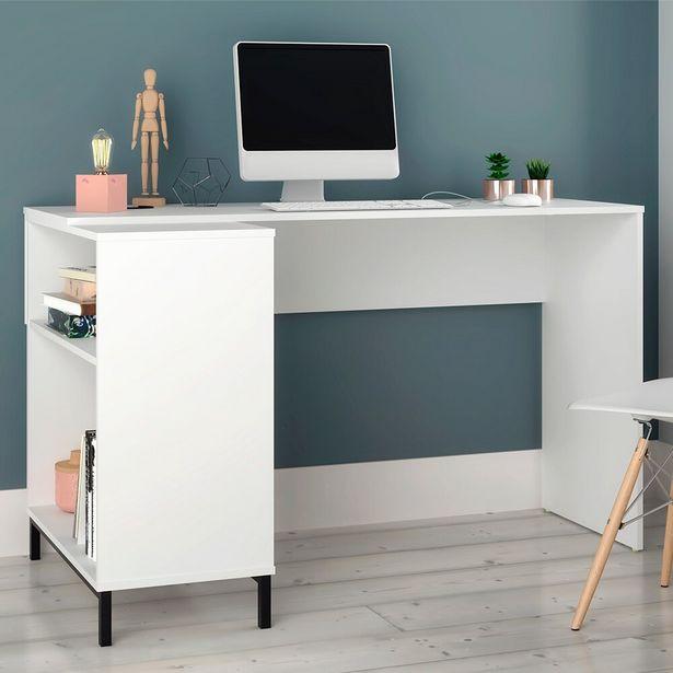 Oferta de Escrivaninha BC78-198 Branco BRV Móveis por R$409
