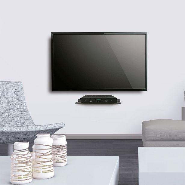 Oferta de Suporte de Parede ELG para Áudio e Vídeo - DVD Player, Blu-Ray, Conversor Digital ACE09 - Preto por R$49,99