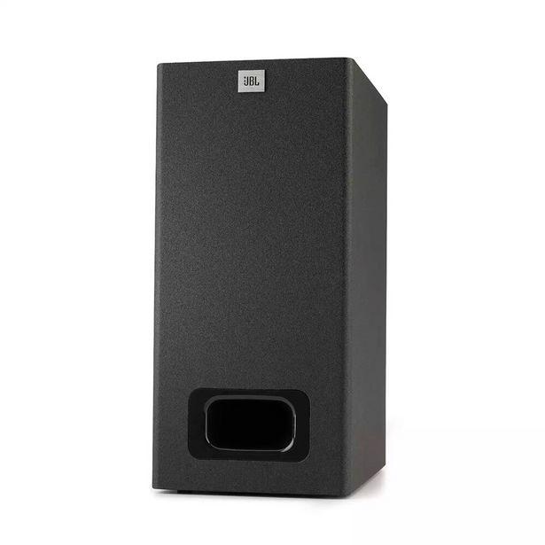 Oferta de Soundbar SB130 2.0 Canais Bluetooth Dolby Digital 50W RMS Preto - JBL por R$859