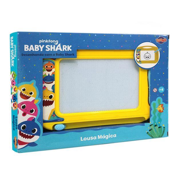 Oferta de Lousa Mágica Baby Shark - 40094 Toyng por R$49,99