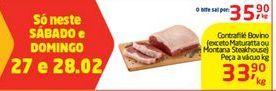 Oferta de Contra Filé Bovino (exceto Maturatta ou Montana Steak House) por