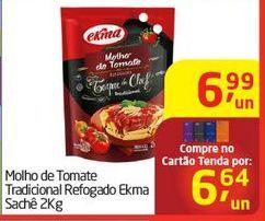 Oferta de Molho de Tomate Tradicional Refogado Ekma por