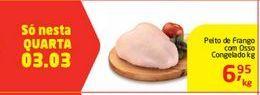 Oferta de Peito de frango com osso Congelado por