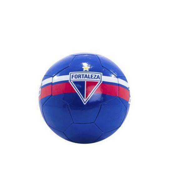 Oferta de Bola de Futebol Fortaleza Couro World Brinquedos 22cm RF182 por R$20