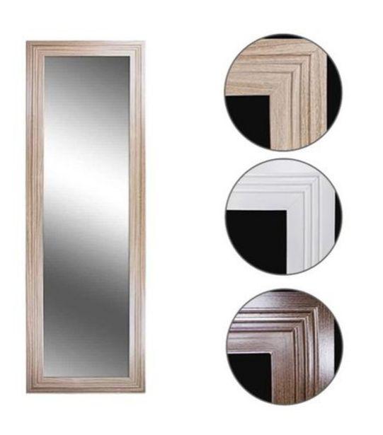 Oferta de Espelho de Pendurar Emoldurado Retangular Nwd Sortidos Euroquadros 50x150cm 541243 por R$99,99