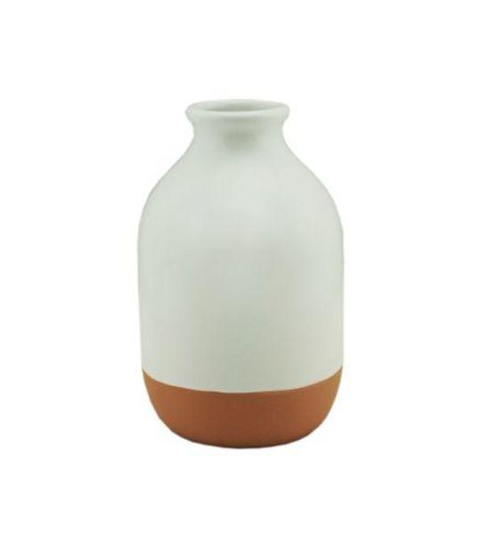 Oferta de Vaso Cerâmica Classic Pot Glazed por R$29,99