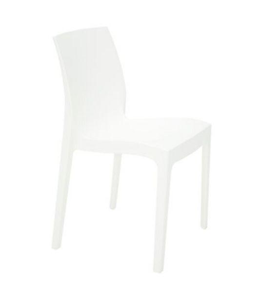 Oferta de Cadeira Alice Branca Tramontina 92037010 por R$179,99