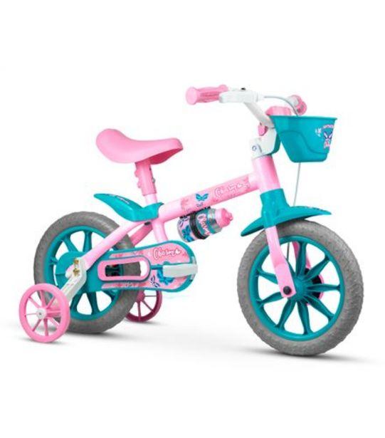 Oferta de Bicicleta Infantil Aro 12 Charm Nathor 100010160050 por R$258,99