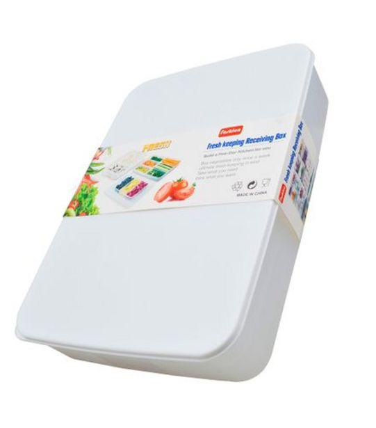 Oferta de Caixa Organizadora Plástica com Tampa UB4464 por R$47,99
