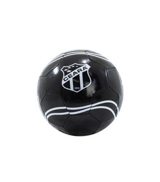 Oferta de Bola de Futebol Ceará Couro World Brinquedos 22cm RF179 por R$29,99