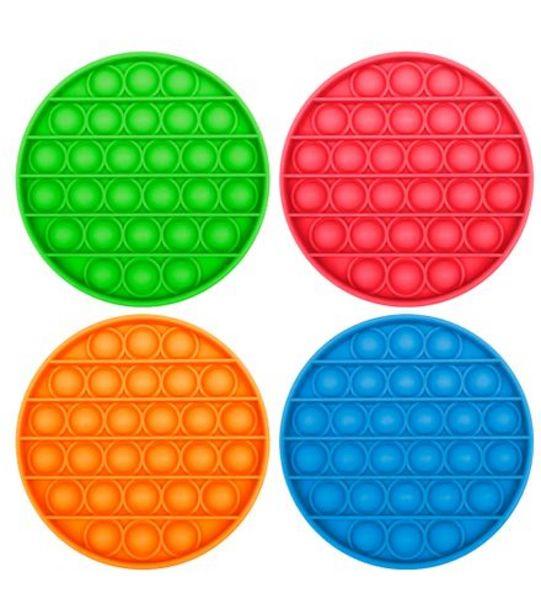 Oferta de Pop It Anti Stress Redondo Color Excelência 2005720 por R$24,99