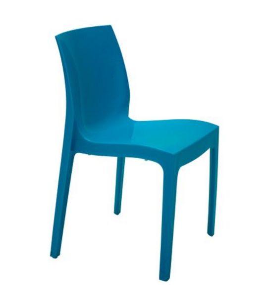 Oferta de Cadeira Alice Azul Turmalina Tramontina 92037977 por R$199,99