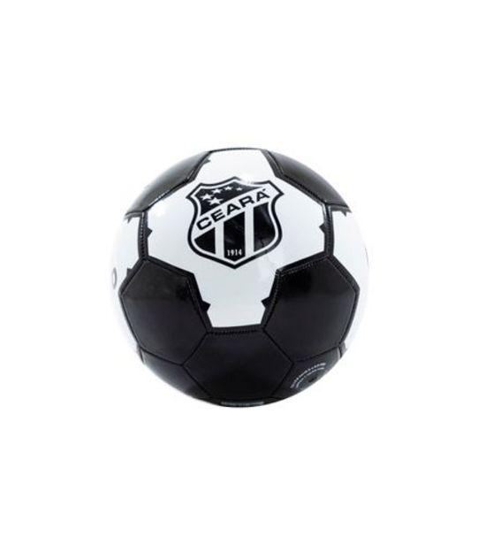 Oferta de Bola de Futebol Ceará Couro World Brinquedos 22cm RF180 por R$29,99