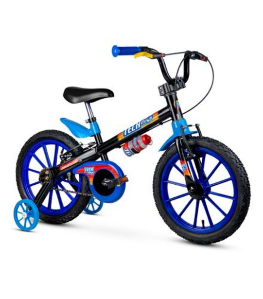 Oferta de Bicicleta Infantil Aro 16 Tech Boys Nathor 100130160009 por R$559,99