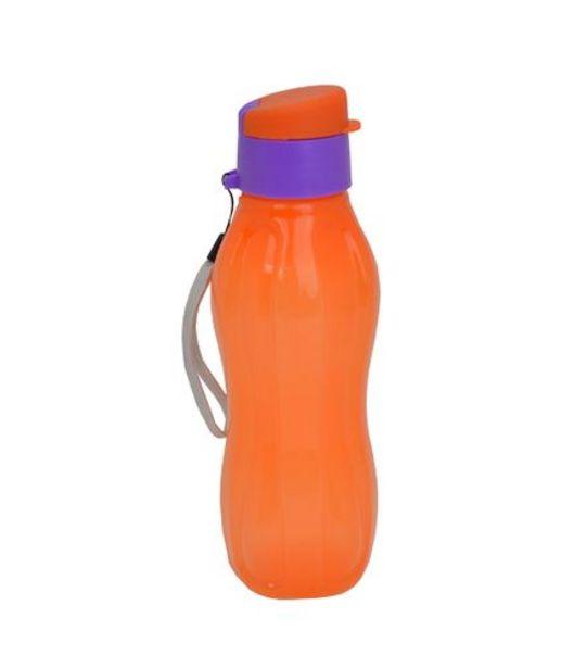 Oferta de Garrafa de Plástico Lilás Laranja 800ML UB5758 por R$5,99