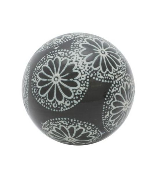 Oferta de Bola Decorativa 5,5cm de Cerâmica por R$7,99