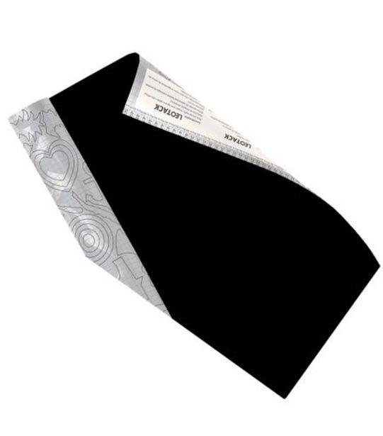 Oferta de Papel de Parede Preto 45cmx10m Leonora 79016 por R$49,99