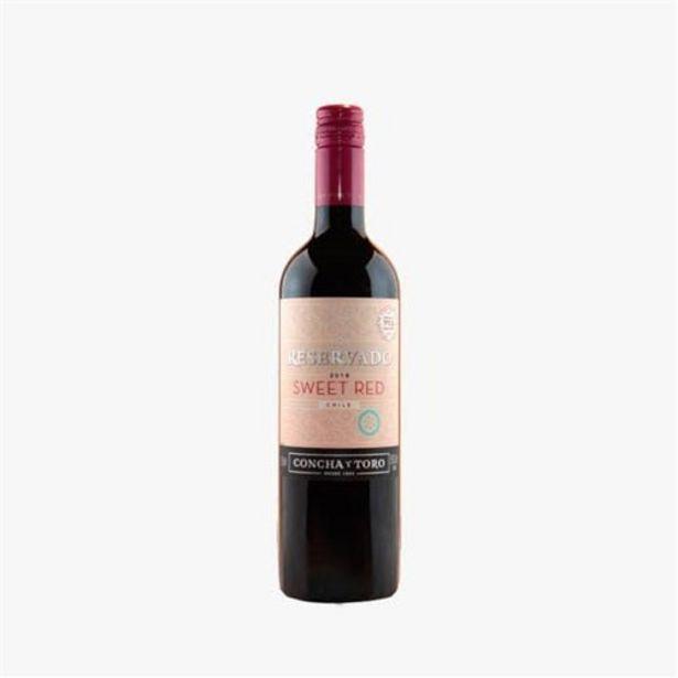 Oferta de Vinho Tinto Chileno Concha Y Toro Reservado Sweet Red Garrafa 750Ml por R$31,9