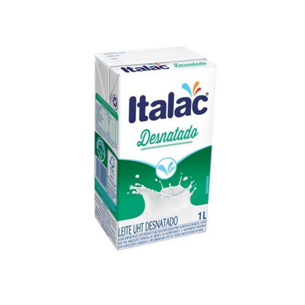Oferta de Leite Longa Vida Desnatado Italac Caixa 1L por R$3,49