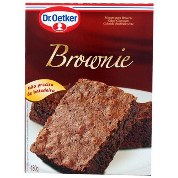 Oferta de Mistura para Brownie Dr.Oetker Pacote 480G por R$10,9