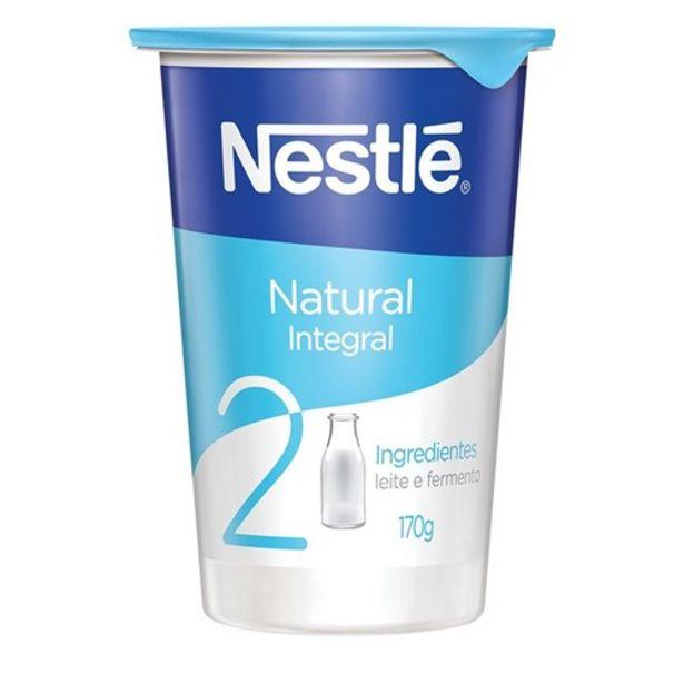 Oferta de Iogurte Natural Nestlé Integral 170G por R$3,19