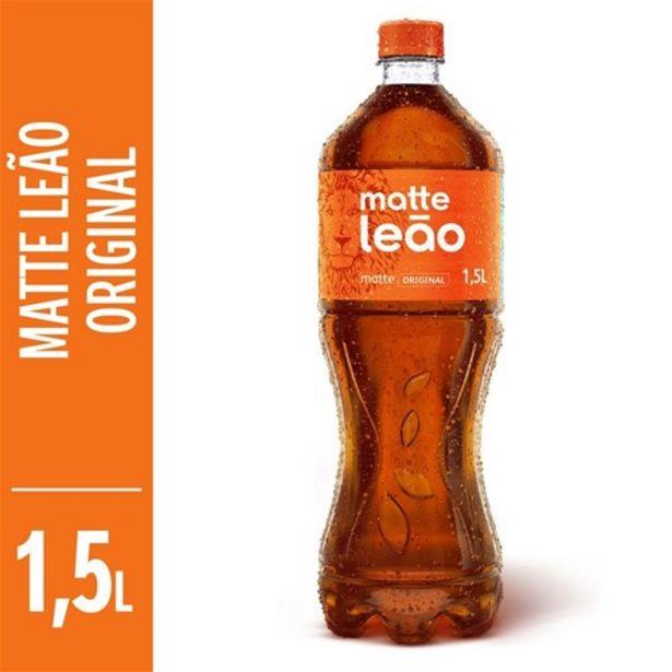 Oferta de Chá Matte Leão Natural Pet 1,5 Litro por R$3,49