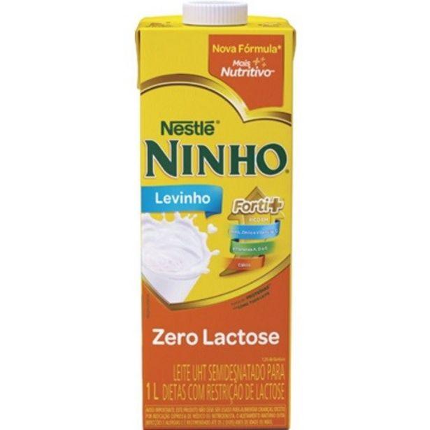 Oferta de Leite Nestlé Uht Ninho Levinho Zero Lactose 1 Litro por R$4,59
