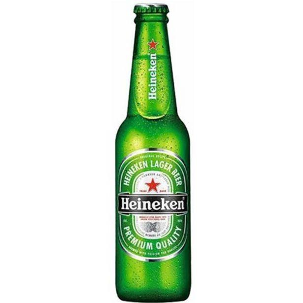 Oferta de Cerveja Heineken Puro Malte Long Neck 330Ml por R$4,59