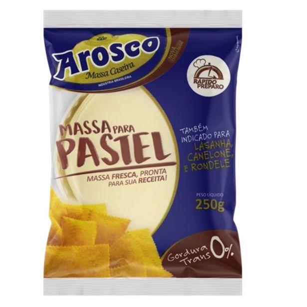 Oferta de Massa para Pastel Arosco Disco Embalagem 250G por R$2,99