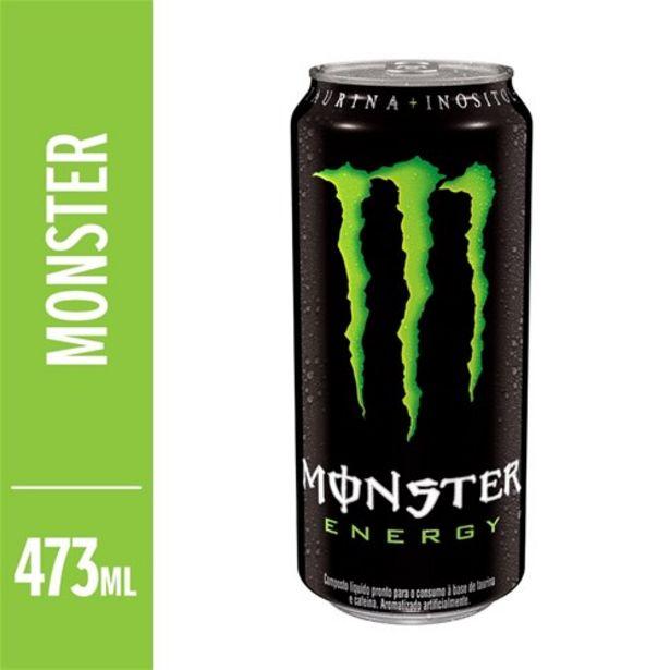 Oferta de Energético Monster Energy 473Ml por R$6,49