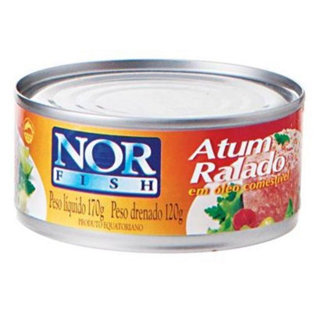 Oferta de Atum Nor Fish Ralado Lata 120G por R$4,39