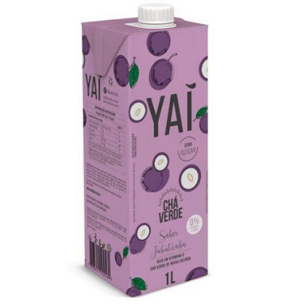 Oferta de Chá Verde Yai Jabuticaba 1 Litro por R$7,4
