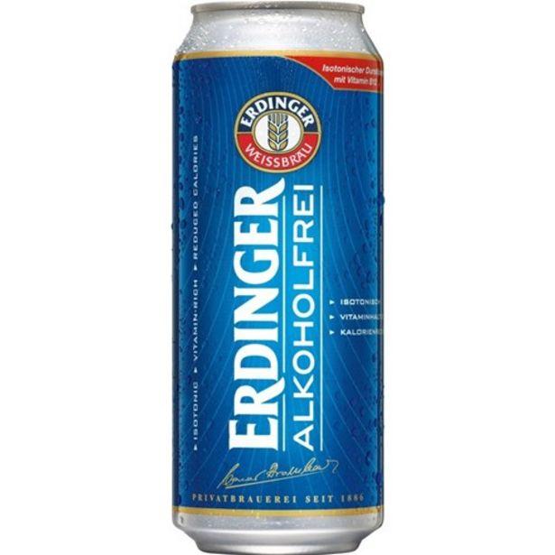 Oferta de Cerveja Erdinger Alkoholfrei Lata 500Ml por R$21,18