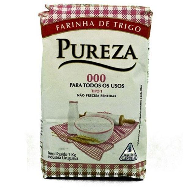 Oferta de Farinha de Trigo Pureza Tipo 1 1Kg por R$4,76
