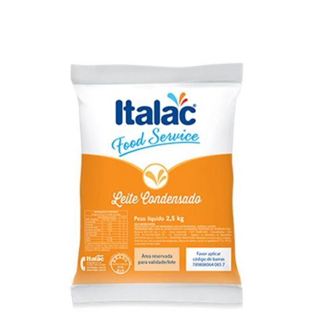 Oferta de Leite Condensado Italac Embalagem 2,5Kg por R$38,14