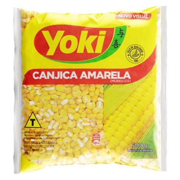 Oferta de Canjica Amarela Yoki 500G por R$5,82