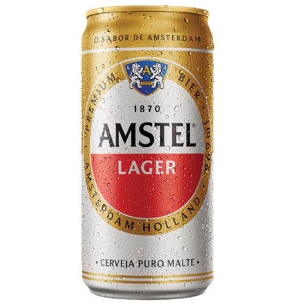 Oferta de Cerveja Lager Puro Malte Amstel Lata 269Ml por R$2,96