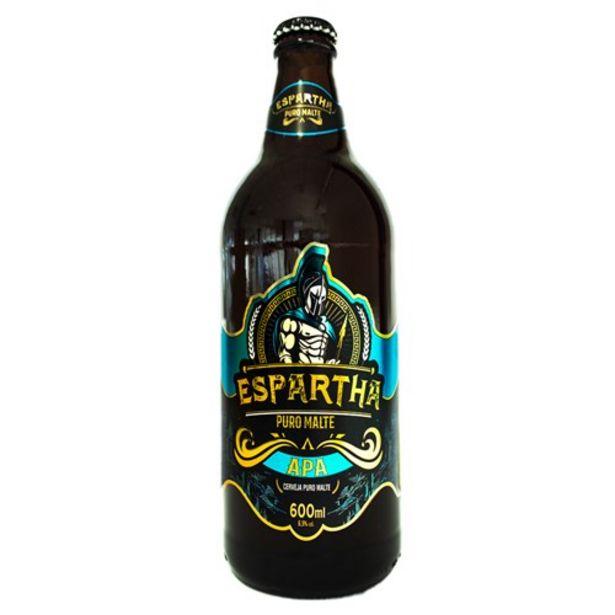 Oferta de Cerveja Puro Malte Apa Espartha 600Ml por R$14,83