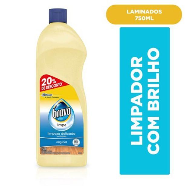 Oferta de Limpa Piso Bravo Original Oferta 750Ml por R$13,55