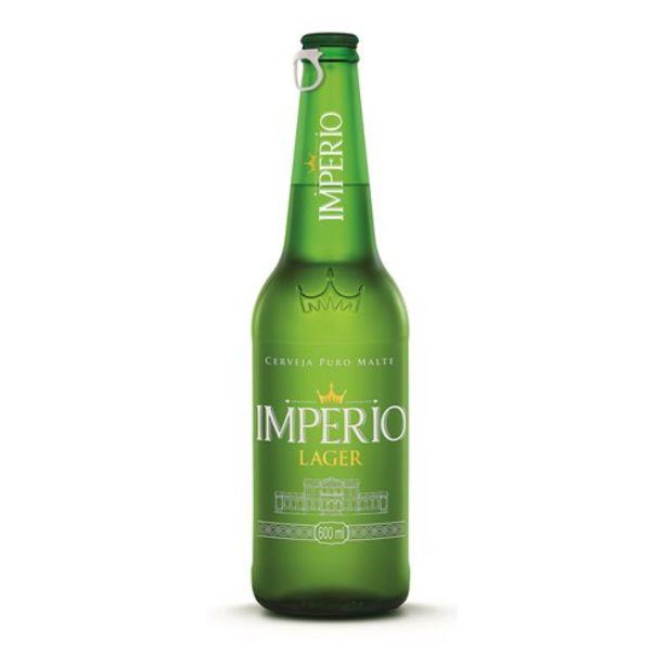 Oferta de Cerveja Império Lager 600Ml por R$6,99