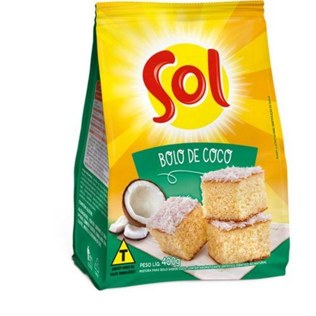Oferta de Mistura para Bolo Sol Coco Caixa 450G por R$4,55