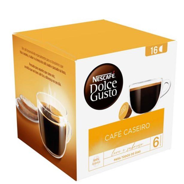Oferta de Café Cápsula Dolce Gusto Caseiro 16Un por R$27,54