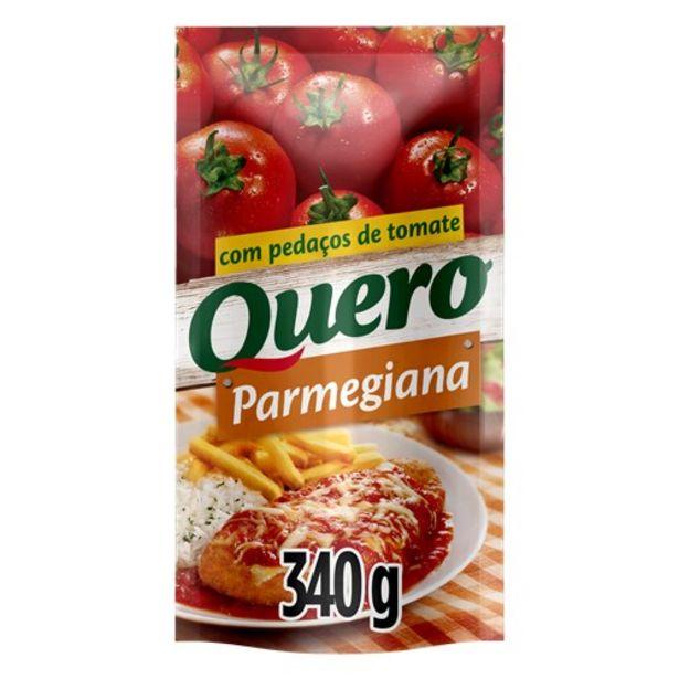 Oferta de Molho de Tomate Quero Parmegiana 340G por R$2,75