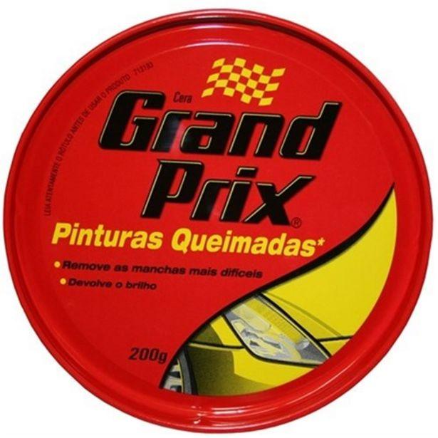 Oferta de Cera Automotiva Grand Prix Pinturas Queimadas Lata 200G por R$31,78