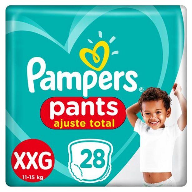 Oferta de Fralda Xxg Pampers Pants 28Un por R$65,46