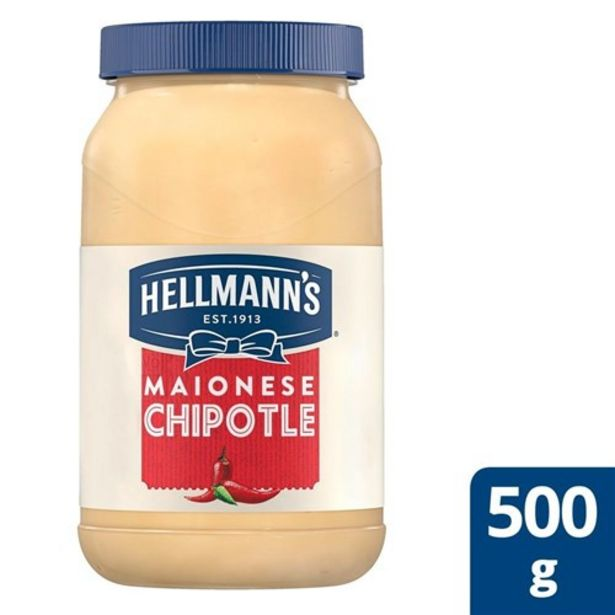 Oferta de Maionese Hellmann's Chipotle 500G por R$8,46