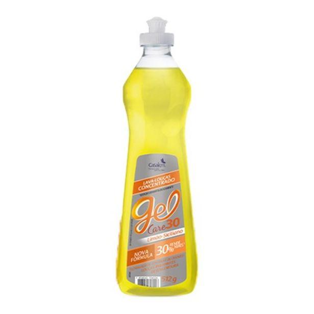 Oferta de Detergente Líquido Gel Care Limão Siciliano Embalagem 512G por R$7,9